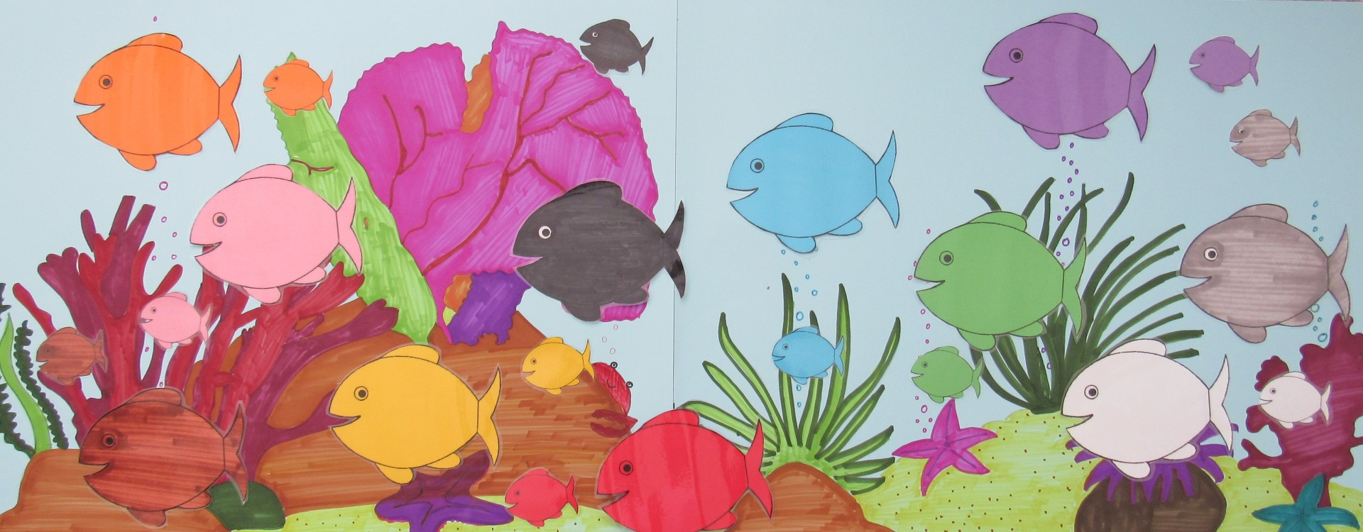 Fishes, Colours, Opposite